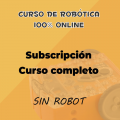 Suscripción al curso online de robótica educativa SIN ROBOT